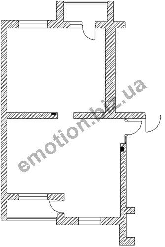 Дизайн небольшой двухкомнатной квартиры 42 кв м
